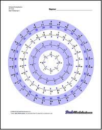 multiplication worksheets bullseye multiplication mathie