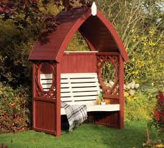 Octagon House Kits by 45 Garden Arbor Bench Design Ideas U0026 Diy Kits You Can Build Over