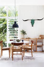 mid century oval dining table tour a modernist beach house in sydney oval dining tables dining