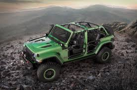 racing jeep wrangler mopar trots out sweet modified jeep wranglers automobile magazine