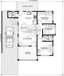 3 bedroom one story house plan home beauty