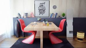 dining room ideas with red accents