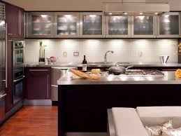 stainless steel kitchen countertops wooden laminated island