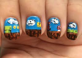 super mario bros finger candy