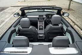 range rover evoque interior range rover evoque convertible review carwitter