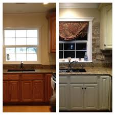 Painted Furniture Ideas Before And After My Kitchen Update Annie Sloan Chalk Paint On Cabinets And