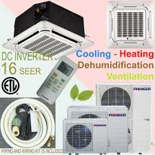 ductless mini split cassette cassette air conditioner vs wall mounted grihon com ac coolers