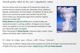 vimax volume wow nutrition international