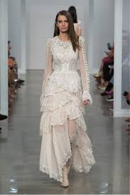 wedding gowns fresh off the runway from sophisticated designers