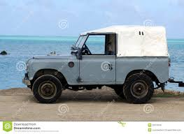 land rover series ii land rover series ii 88 on aitutaki lagoon cook islands stock