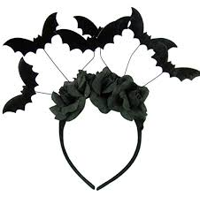 bat headband let the bats in your belfry fly petslady