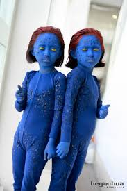 Mystique Halloween Costume Avatar Cosplay Kid Kids Cosplayers
