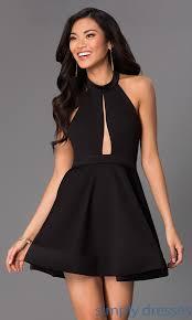 klshort black dresses black halter dress dress fa
