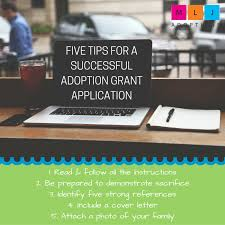 five tips for a successful adoption grant application