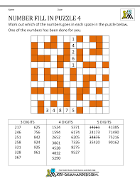 Halloween Crossword Puzzles Printable by Number Fill In Puzzles