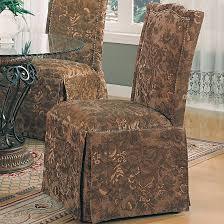Parson Chairs Slauson Dinette With Brown Parson Chairs Dining Room Sets