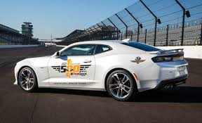 2010 camaro pace car for sale chevrolet camaro ss to pace 2016 indy 500 car and driver