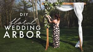 wedding arbor used diy wood wedding arbor the sorry