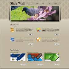 slide wall free website templates in css html js format for free