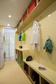 modern laundry room design maytag front load pair on peds