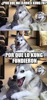 Fu Meme - por que mataron a kung fu on memegen