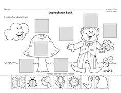 positional words worksheet kid crafts and education pinterest