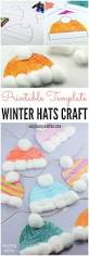 winter hats craft for kids perfect classroom craft easy peasy