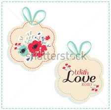 gift tag template clipart 28