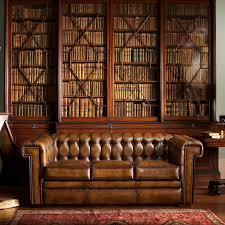 chesterfield sofa leather chesterfield sofa leather 3 seater brown stanley fleming