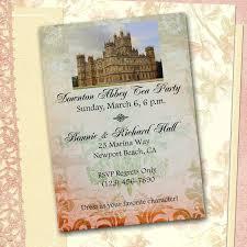 Downton Favors by Downton Invitation Diy Printable By Sferradesigns