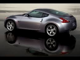 silver nissan 2009 nissan 370z silver rear and side speed 1600x1200 wallpaper
