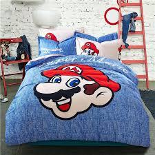 Mario Bros Bed Set Mario Bedding Set Kellycaresse