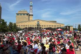 mississauga opens u201ccelebration square u201d project for public spaces