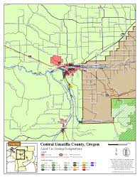 Map Of Central Oregon by Umatilla Co Planning Gis