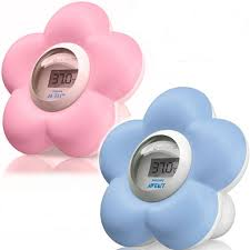 thermometre bain et chambre philips avent flower bath and room thermometer ebay