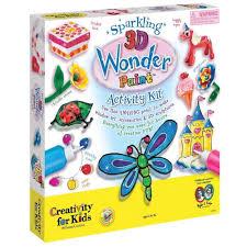 creativity for kids 3d wonder paint activity minds alive toys