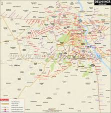 Blue Line Delhi Metro Map by Metro Stations Map