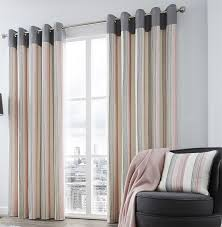 curtains striped window curtains navy stripe curtains