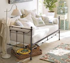 Pottery Barn Iron Bed Pottery Barn Daybed Furniture Selections Homesfeed