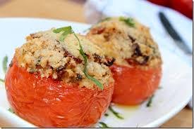 cuisiner sans viande tomates farcies au four les joyaux de sherazade