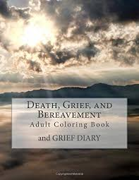 death grief bereavement coloring book grief diary