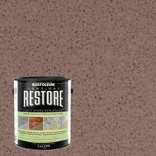 Rustoleum Chocolate Brown by Rust Oleum Restore 1 Gal White Vertical Liquid Armor Resurfacer