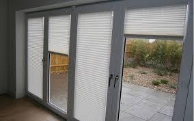 Pleated Blinds Backyard Door Blinds Home Outdoor Decoration