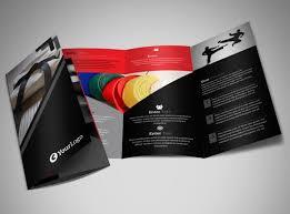 studio brochure yoga instructor u0026 studio brochure template design
