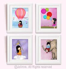 Girls Room Wall Art Kids Prints Kids Room Art Posters - Prints for kids rooms