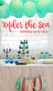 the sea party the sea party ideas painted confetti