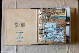 travel photo album travel mini album seoul just eclectically