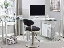 Clear Corner Desk by Some Option For Corner Desks For Home Office Decoration So You