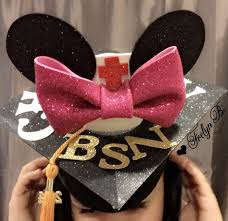 graduation cap minnie mouse crafts diy minnie