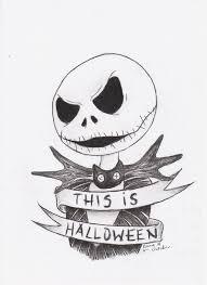 jack skellington halloween tattoo design by sempeternally on